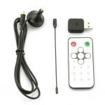 Receptor de sinal digital TDT, AV – USB