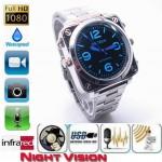 Relógio com câmara FULL HD e visão noturna 16GB