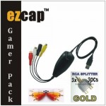 Ezcap172 Gamer Pack USB Video Captures HD