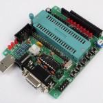 Placa de desenvolvimento C51/AVR MCU