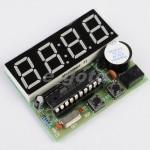 Relógio eletrónico digital de 4 dígitos
