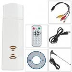 Receptor de sinal digital TDT Analógica, AV e Rádio – USB Para PC