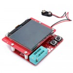 Multiteste com grande LCD para componentes eletrónicos