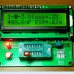 Multi teste digital de componentes eletrónicos