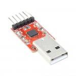 Adaptador serial USB para atualizar osciloscópio DSO138