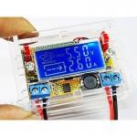 Regulador de tensão digital com LCD ajustável