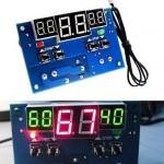 Regulador inteligente de temperatura com relé